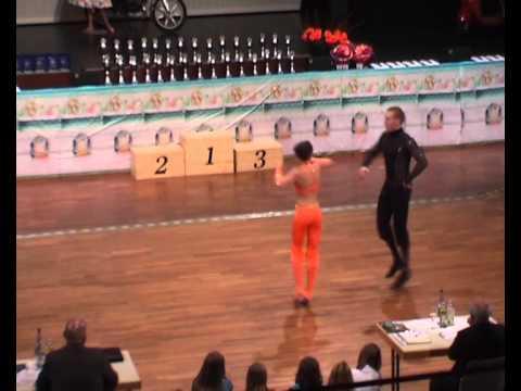 Julia Geishauser & Patrick Pfaller - Süddeutsche Meisterschaft 2011