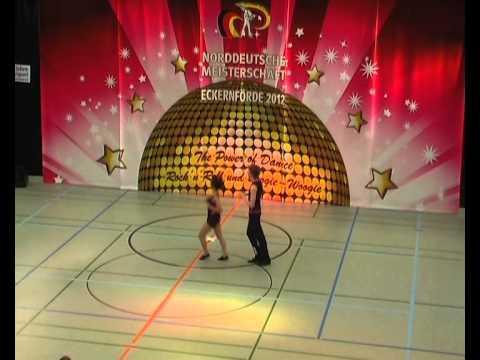 Lisa Finster & Jesko Opitz - Norddeutsche Meisterschaft 2012