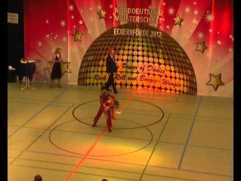 Lucy Wiedemaier & Oliver Kurzaj - Norddeutsche Meisterschaft 2012