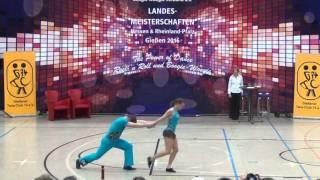 Marion Liskatin & Harald Marzi - Landesmeisterschaft Hessen, Rlp, Saarland 2016