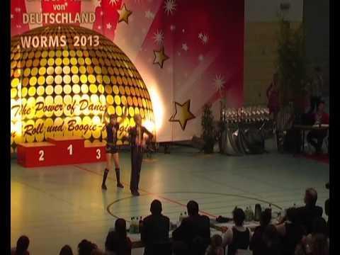 Johanna Wolf & Niklas Bahr - Großer Preis von Deutschland 2013