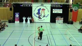 Carolin Steinberger & Tobias Planer - Landesmeisterschaft Bayern 2015