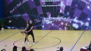 Jana Steinwerth & Fabian Mirtschin - Deutsche Meisterschaft 2016