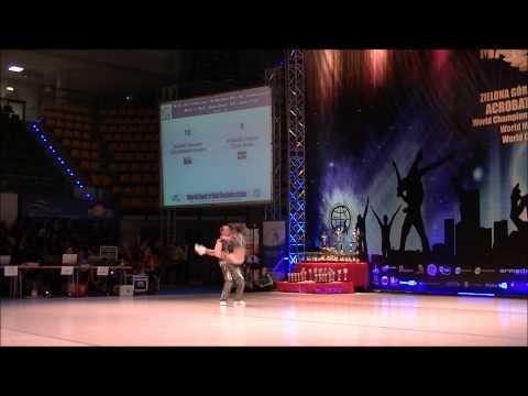 Horak - Chudomska & Kubovic-  Lelic - World Masters Zielona Gora 2012