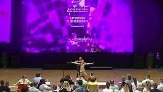 Mathilde Großhans & Umut-Can Teber - Landesmeisterschaft Bayern 2019