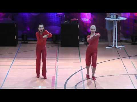 Celine Specht & Tim Huber - Deutschland Cup 2011