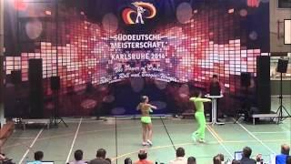Nicole Kalb & Alexander Kapsalis - Süddeutsche Meisterschaft 2014