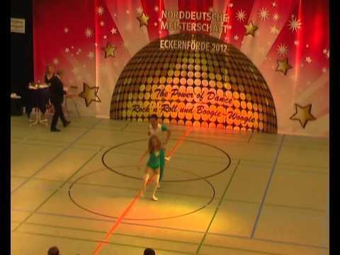 Jennifer Schitz & Maxim Penner - Norddeutsche Meisterschaft 2012