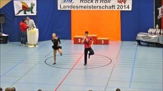 Carolin Steinberger & Tobias Planer - Landesmeisterschaft Rheinland- Pfalz 2014