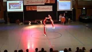 Jasmin Hapfelmeier & Maximilian Draszczyk - Schwäbische Meisterschaft 2013