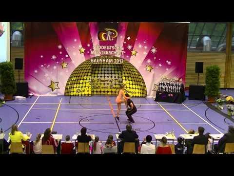 Carolin Steinberger & Tobias Planer - Süddeutsche Meisterschaft 2013