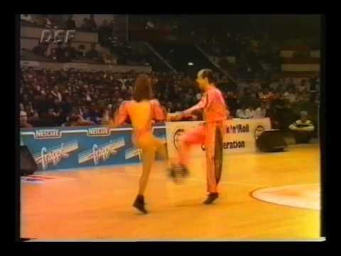 Nathalie Menotto & Daniel Idmont - World Masters Lyon 1994