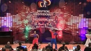 Lea Andres & Marc Krauß - Deutsche Meisterschaft 2014