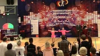 Antonia Schmid & Julian Minks - Norddeutsche Meisterschaft 2014