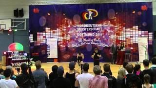 Jana Köder & Alexander Vesel - Norddeutsche Meisterschaft 2014