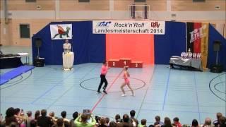 Nicole Kalb & Alexander Kapsalis - Landesmeisterschaft Rheinland- Pfalz 2014