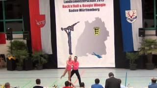 Nicole Kalb & Alexander Kapsalis - LM Baden-Württemberg & Hessen 2015