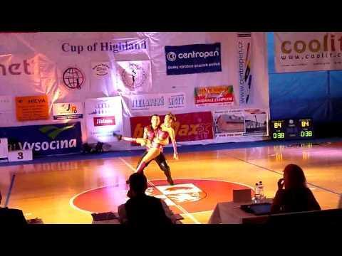 Boglárka Gál & Péter Tramontini - World Cup Jihlava 2012