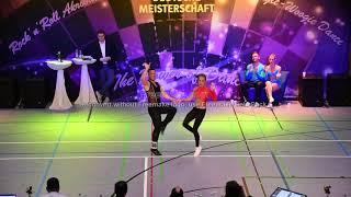 Lea Vodermaier & Paul Weiland - Deutsche Meisterschaft 2019