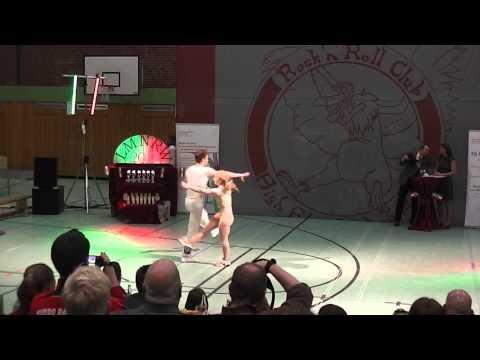 Jana-Simone Scheffler & Tobias Neumann - Landesmeisterschaft NRW 2013
