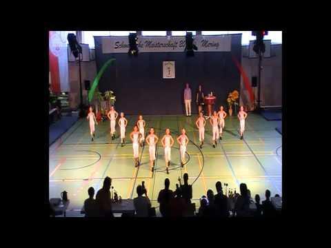 Girls Gang - Show zur Eröffnung der Schwäbischen Meisterschaft 2011