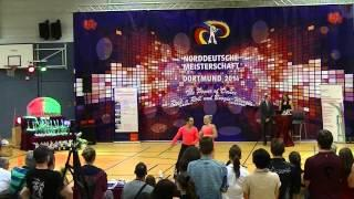Nicole Kalb & Alexander Kapsalis - Norddeutsche Meisterschaft 2014