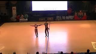 Elizaveta Dyachkova & Nikita Frolov - World Cup Budapest 2017