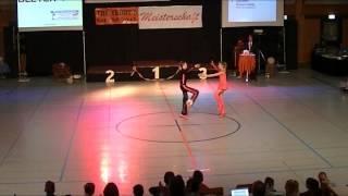 Lara Ritter & Vincent Ludwig - Schwäbische Meisterschaft 2013