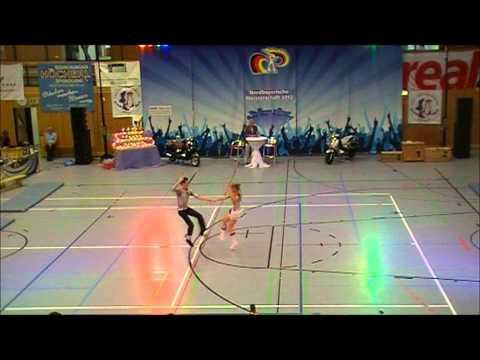 Jessica Ortanderl & Lukas Brauer - Nordbayerische Meisterschaft 2012