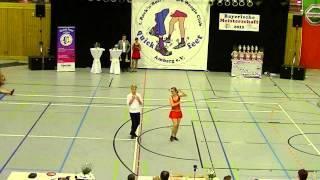 Juliana Eller & Timo Pfaffinger - Landesmeisterschaft Bayern 2015