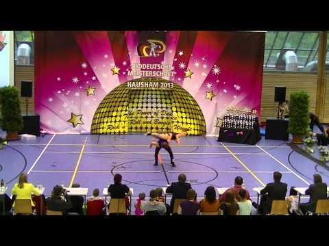 Chantal Roos & Pascal Roos - Süddeutsche Meisterschaft 2013
