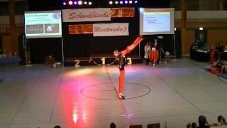 Deborah Werz & Adrian Beck - Schwäbische Meisterschaft 2013