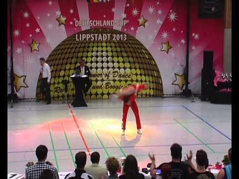 Julia Butterweck & Philipp Wolf - Deutschland Cup 2013