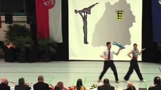 Renate Kaplan & Alexander Frank - LM Baden-Württemberg & Hessen 2015