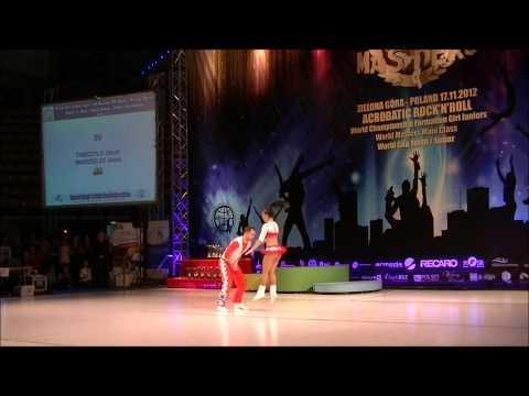 Anna Miadzielec & Jacek Tarczylo - World Masters Zielona Gora 2012