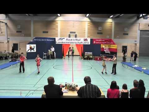 Joline Specht & Daniel Langer - Landesmeisterschaft Rheinland- Pfalz 2012