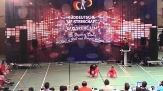 Rebekka Stahl &  Daniel Langer - Süddeutsche Meisterschaft 2014