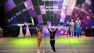 Michelle Uhl & Tobias Bludau - Deutsche Meisterschaft 2019
