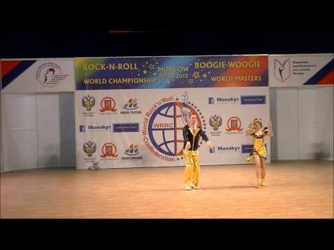Olga Sbitneva & Ivan Youdin - Weltmeisterschaft 2012