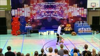 Sara Jonasson & Robin Jovliden -  Teddybears-Cup 2014