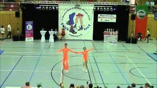 Lisa Stufler & Anton Zinsmeister - Landesmeisterschaft Bayern