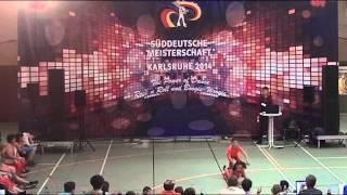 Vivien Seibel & Max Dudos - Süddeutsche Meisterschaft 2014