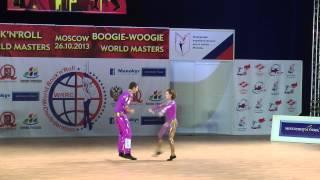 Alzbeta Slamova & Lukas First - World Masters Moskau 2013