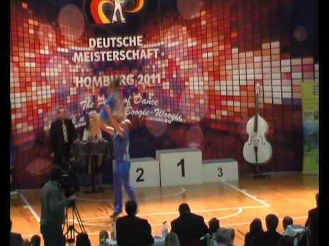 Susanne Weis & Jochen Berger - Deutsche Meisterschaft 2011