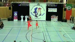 Kristin Palfreyman & Vitus Reiter - Landesmeisterschaft Bayern 2015