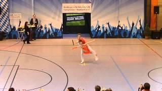 Sophia Schorer & Maximilian Reitmeir - Nordbayerische Meisterschaft 2015
