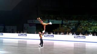 Melitine Poulios Burel & Nicolas Thevenon - World Games 2017