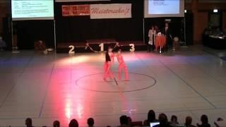 Rebekka Stahl & Daniel Langer - Schwäbische Meisterschaft 2013