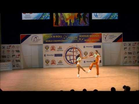 Sandra Chudomska & Vitezslav Horak - Weltmeisterschaft 2012