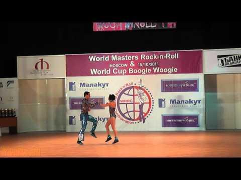 Florian Baron & Guylaine Golf - World Masters Moskau 2011